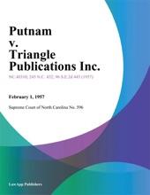 Putnam V. Triangle Publications Inc.
