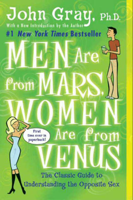 Men Are from Mars, Women Are from Venus - John Gray book