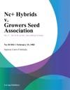 Nc Hybrids V Growers Seed Association