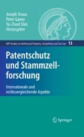 Download and Read Online Patentschutz und Stammzellforschung