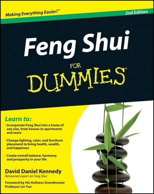 Feng Shui For Dummies By Grandmaster David Daniel Kennedy