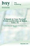 A Bomb In Your Pocket Crisis Leadership At Nokia India A
