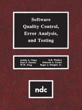 Software Quality Control, Error, Analysis (Enhanced Edition)