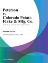 Peterson V Colorado Potato Flake  Mfg Co
