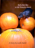 Ruby Roo Rat in the Pumpkin Patch