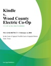 Kindle V Wood County Electric Co-Op