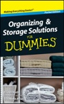 Organizing And Storage Solutions For Dummies  Pocket Edition