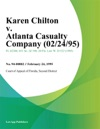 Karen Chilton V Atlanta Casualty Company