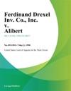 Ferdinand Drexel Inv Co Inc V Alibert
