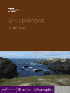 La Vie d'Antoine La couverture du livre martien