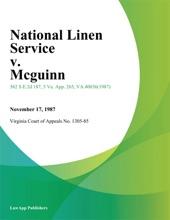 National Linen Service V. Mcguinn