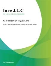 In Re J.L.C.