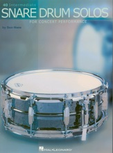 40 Intermediate Snare Drum Solos (Music Instruction)