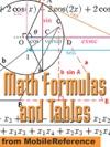 Math Formulas And Tables