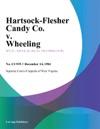 Hartsock-Flesher Candy Co V Wheeling