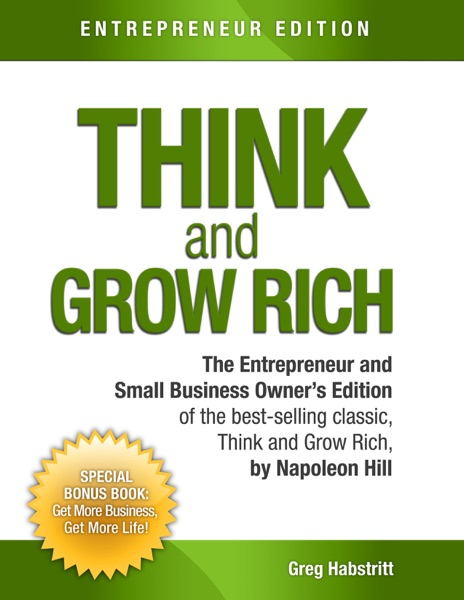Think and Grow Rich - Greg Habstritt & Napoleon Hill book cover
