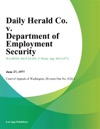 Daily Herald Co V Department Of Employment Security