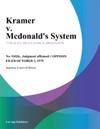 Kramer V Mcdonalds System