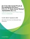 Citywide Social Work  Psychological Services