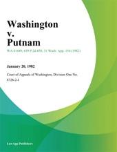 Washington V. Putnam