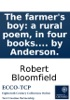 The farmer's boy: a rural poem, in four books. By Robert Bloomfield. With ornaments engraved in wood by Anderson.