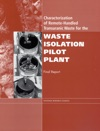 Characterization Of Remote-Handled Transuranic Waste For The Waste Isolation Pilot Plant