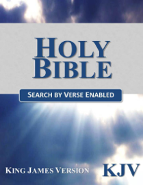 Holy Bible, King James Version (KJV) (Search by Verse Enabled)