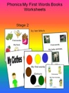 Phonics My First Words Books Worksheets