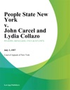 People State New York V John Carcel And Lydia Collazo