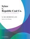 Sykes V Republic Coal Co