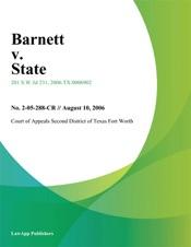 Download Barnett v. State