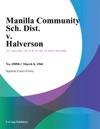 Manilla Community Sch Dist V Halverson