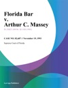 Florida Bar V Arthur C Massey