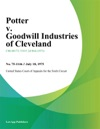 Potter V Goodwill Industries Of Cleveland