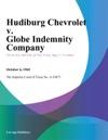 Hudiburg Chevrolet V Globe Indemnity Company