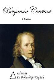Œuvres de Benjamin Constant
