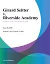 Girard Seitter V Riverside Academy