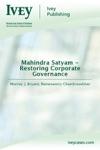 Mahindra Satyam - Restoring Corporate Governance