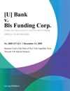 U Bank V Bls Funding Corp
