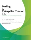 Darling V Caterpillar Tractor Co