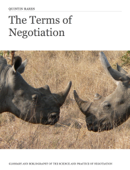 The Terms of Negotiation
