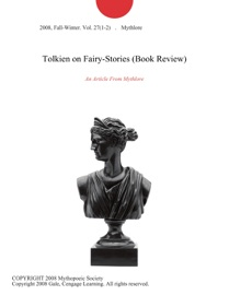 TOLKIEN ON FAIRY-STORIES (BOOK REVIEW)