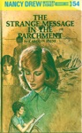 Nancy Drew 54 The Strange Message In The Parchment