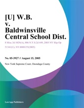 [U] W.B. V. Baldwinsville Central School Dist.