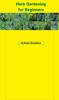 Robert Donaldson - Herb Gardening for Beginners  arte