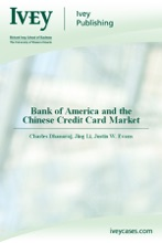 Bank Of America And The Chinese Credit Card Market