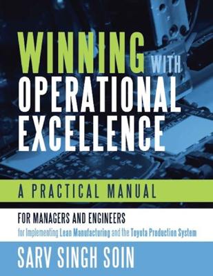 Winning With Operational Excellence - S. Singh Soin book