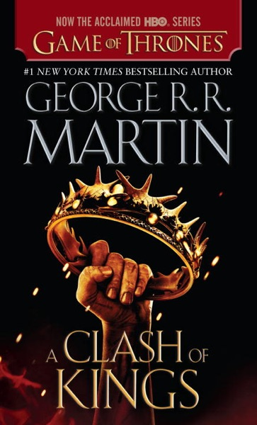 A Clash of Kings - George R.R. Martin book cover
