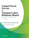 United Parcel Service V National Labor Relations Board