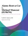Alamo Rent-A-Car V Michael Mancusi 010694